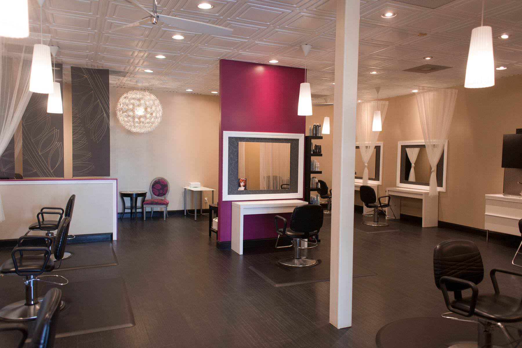 Cutting Floor at Inspire Salon in St Charles