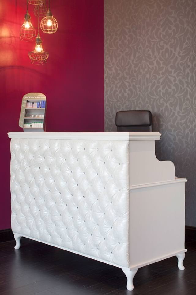 Front Desk at Inspire Salon in St Charles