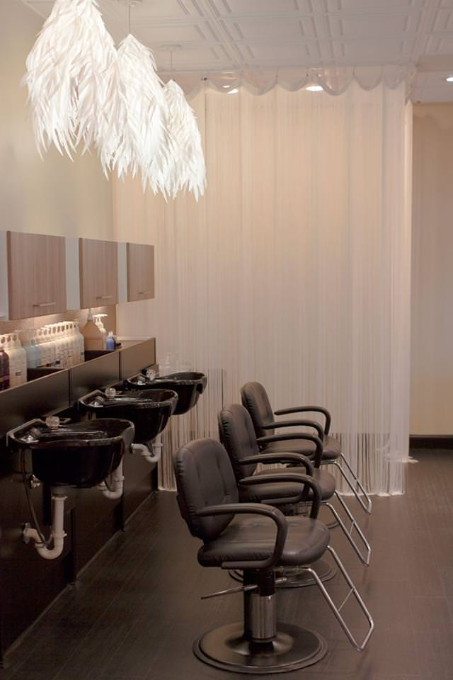 Shampoo Area at Inspire Salon in St Charles